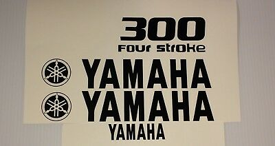 Yamaha Outboard 300 hp  Decal Sticker Kit Marine vinyl  20 hp - 300 just ask