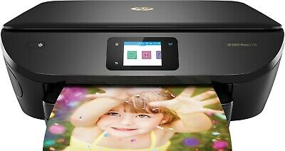 OPEN BOX HP ENVY Photo 7155 All-in-One Printer with Inks in Brown Box (Z3M52A)