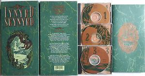 """BOX ORIGINALE: Lynyrd Skynyrd """"Definitive Collection"""" (Box 3 CD Book) - Italia - BOX ORIGINALE: Lynyrd Skynyrd """"Definitive Collection"""" (Box 3 CD Book) - Italia"""