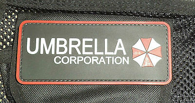RESIDENT EVIL UMBRELLA CORPORATION - PVC PATCH with BACKING