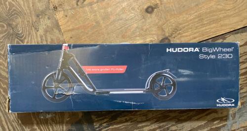 HUDORA 230 Adult Scooters Foldable Adjustable Kick Scooter A