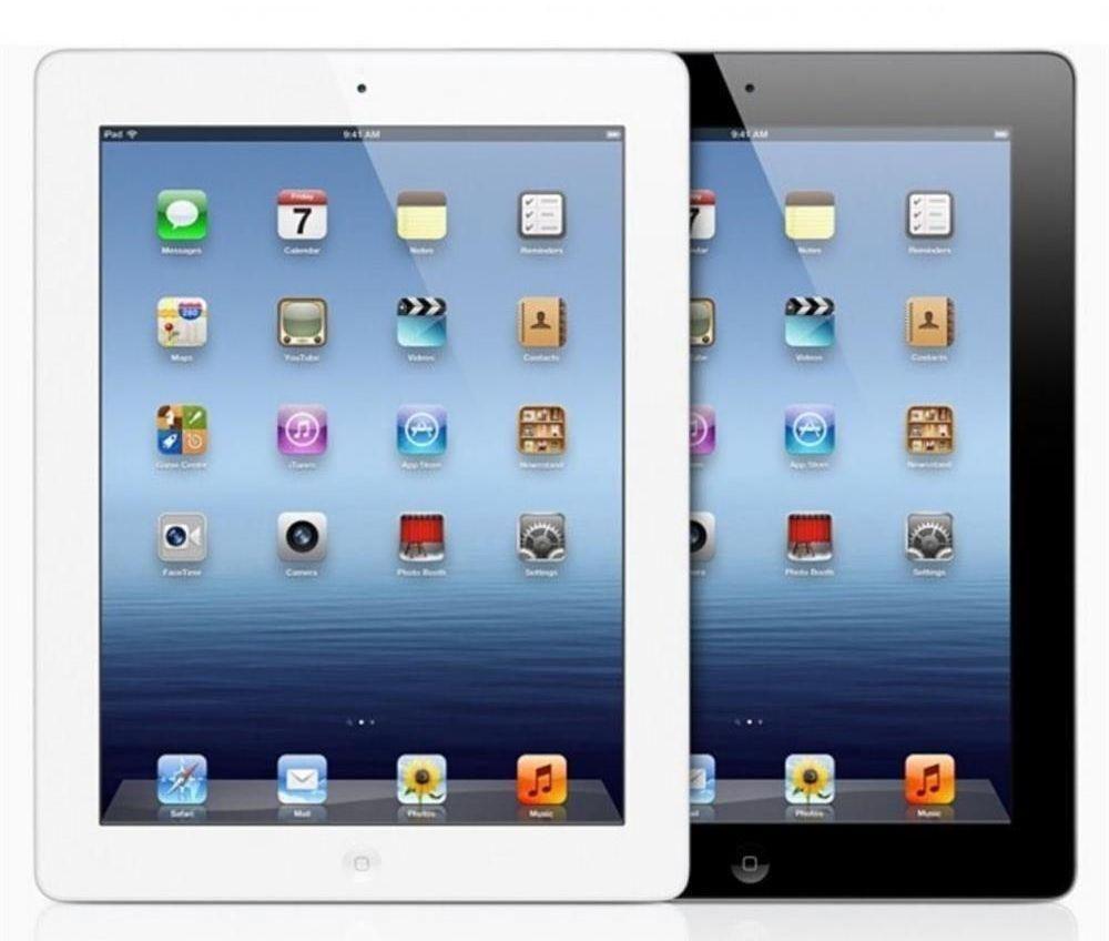 Apple iPad 3rd Gen. Wi-Fi, 9.7in Black White Tablet  16GB 32GB 64GB Grade A-B-C