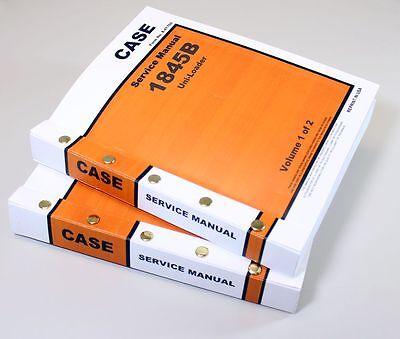 Case 1845b Uniloader Skidsteer Service Repair Technical Shop Manual Uni Loader