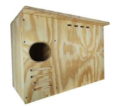 Barn Owl Nesting Box Large House Crafted in USA. JCs Wildlife w Free -