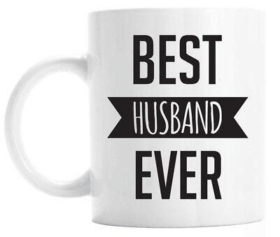 Best husband ever mug, funny anniversary gift for husband, birthday gift for (Best Birthday Gifts For Husband)