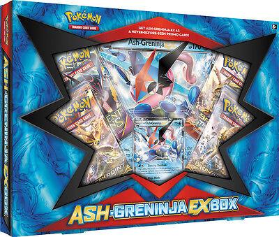 Pokemon 2016 Ash and Greninja Ex Box