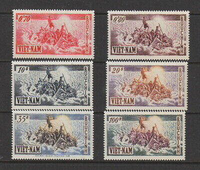 Viet Nam , 1955 Refugees Set MNH , SG S5-S10 Cat £200