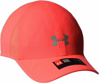 NWT Under Armour Women's Shadow 2.0 Hat Reflective Running Adjustable Vented