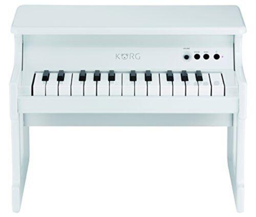 KORG Tiny Piano White Digital Toy Piano 25 Key From Japan