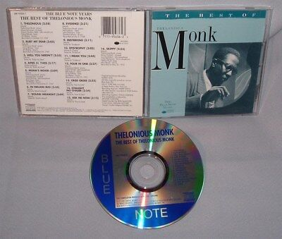 CD THELONIOUS MONK The Best Of The Blue Note Years MINT