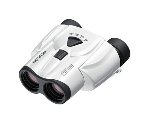 NEW Nikon ACULON T11 8-24x25 White Spectator Sports Travel Theatre ACT11WH