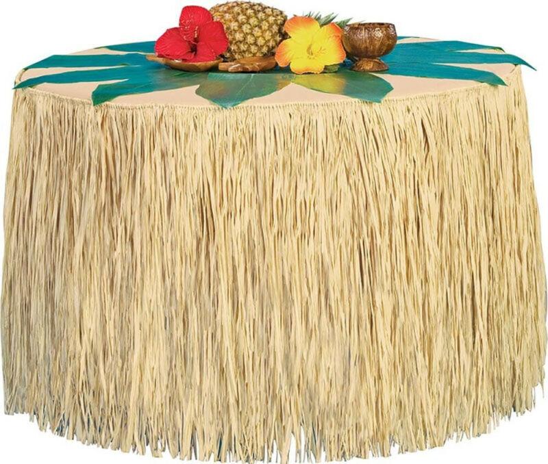 Islander Hawaiian Style Luau Table Cover Skirting