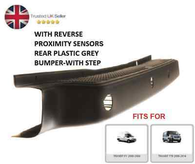 REAR BUMPER COVER WITH REVERSE SENSORS FITS FOR FORD TRANSIT MK6 MK7 2000-2014