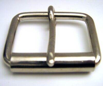 Einfache silberne Roller- Schließe für Buckle-Gürtel, Gürtelschnalle