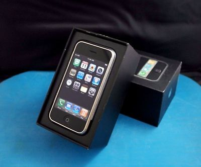 iPhone 1st Generation 2G - A1203 - 8GB .RARE IOS 1.0 -(AT&T) & Matching # Box. for sale  Longwood