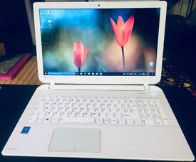 "Toshiba SATELLITE Laptop 15.6"" (Pentium 2.16GHz(4 core 4 threads) 4GB RAM, 750GB HDD, Windows 10Pro)"