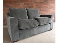 Grey 2 seater sofa suite - HARVEYS EX DISPLAY - can deliver