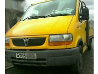 Vauxhall movano DTI 2.2 3500 lwb 2005 pickup