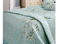 1 x kaleidoscope kingfisher kingsize bedspread
