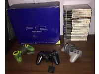SONY PS2 + 20 GAMES + 3 CONTROLLERS BARGAIN BUNDLE MUST SEE LOOK !!!!