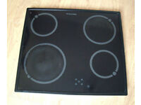 Electrolux Electric Ceramic Glass Hob, touchscreen controls