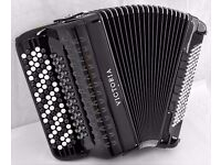 Victoria 5 Row C-System Chromatic Accordion - Double Cassotto - Double Octave