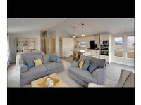 BARGIN LUXURY LODGE FOR SALE NORTHUMBERLAND COAST DIRECT BEACH ACCESS 12 MONTH SEASON