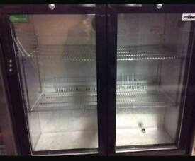 Double bar/drinks fridge