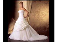 BRAND NEW Ivory Designer wedding dress
