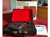 Cossley Cruiser Record Player