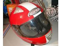 VIPER motorbike helmet Small