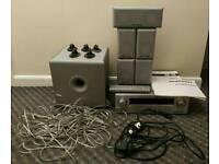 Teac Home Cinema Amp + Marantz Speaker System
