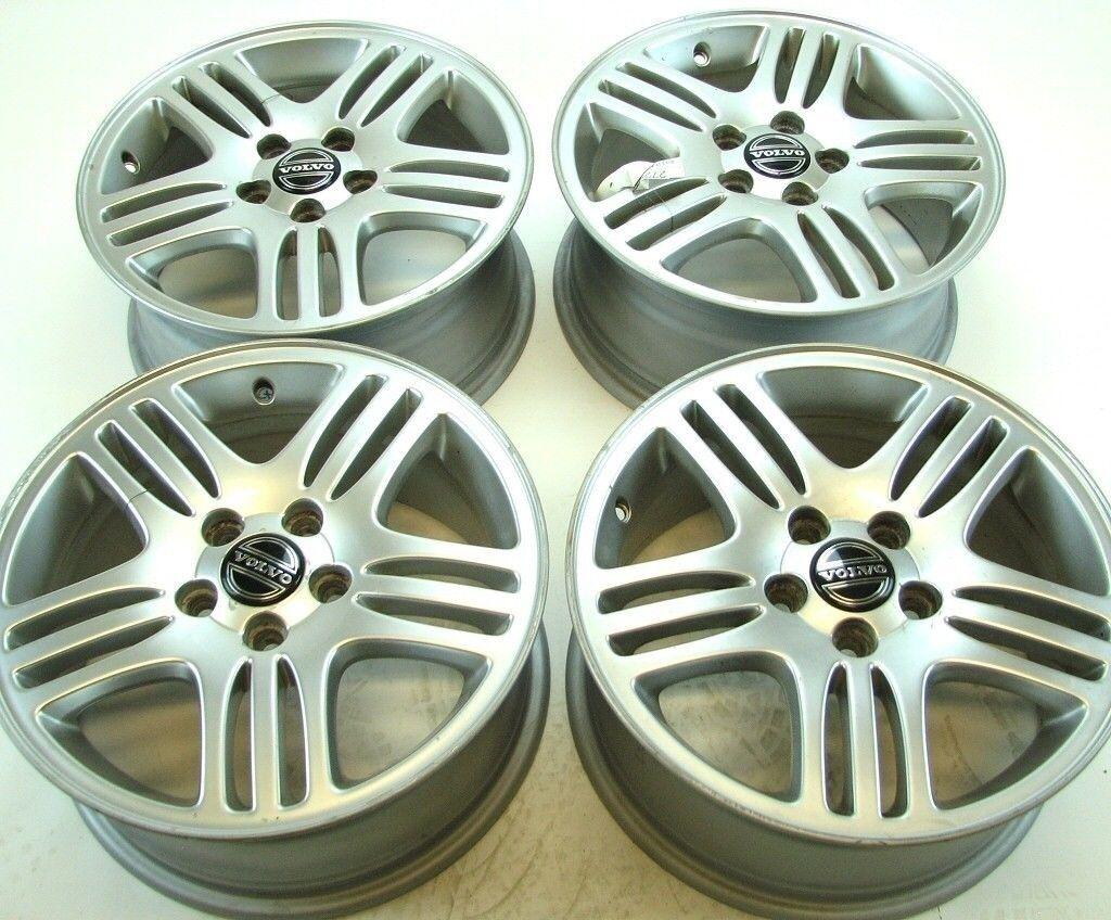 Set Of 4 Volvo Oem 16x7 Eurus Rims Wheels For S80 99 06 V70 Xc70 2001 S60 01 09