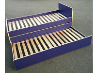 Free delivery/ Ikea Trundle bed / Single bed with pull out bed/ Guest bed/ double bed RRP 280