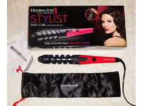 Remington Advanced Ceramic Easy Curl Stylist Curlers Curling hair tongs New & boxed!