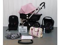 Soft Pink Bugaboo Cameleon 3rd Generation! FULL TRAVEL SYSTEM