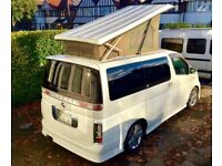 nissan elgrand camper van new luxury full conversion 4 berth pop top