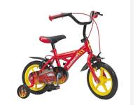 "Kids 12"" fire truck bike"
