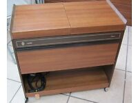Retro Hostess Trolley / Bain Marie, Full Working Order