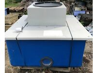One piece cold water storage tank-ideal for small build/rain water harvesting etc.