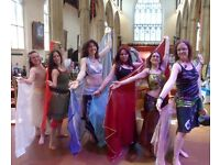 Belly dance taster: 17th Sept, 1-2pm, try something new @Maddermarket, Norwich. Eleanor Bellydances.