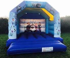 Frozen Bouncy Castle Hire Torbay £60 for the day including setup