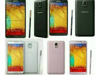 Samsung Galaxy Note 3 Brand New 32gb Unlocked Open To All Networks Mostly All Colours