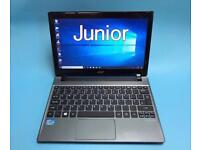 Acer i3 Fast 4GB, 500GB Slim HD Laptop, HDMI, Win 10, Portable Excellent Condition, Ms office