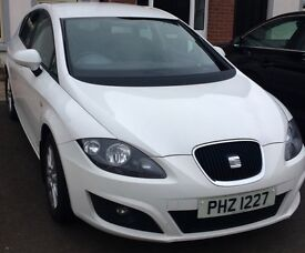 Seat Leon 2012 Copa SE in WHITE | lovely driving car | very easy on fuel | full service history
