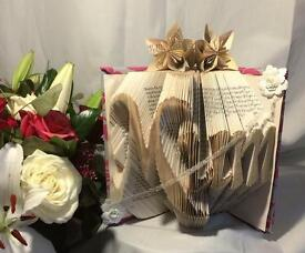 Handmade Mother's Day Book Folded Gifts Keepsakes