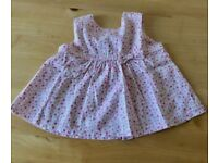 Bundle of baby dresses: sizes 3 to 9 months (like new)