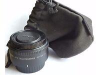 Nikon AF-S tele converter TC-17E II