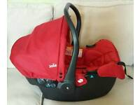 Joie Juva car seat with base