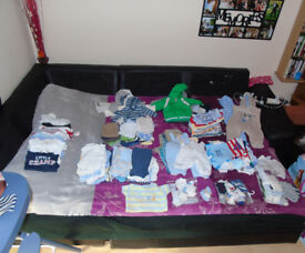 clothes for a boy 0-3 m + new bor-whole baby outfit